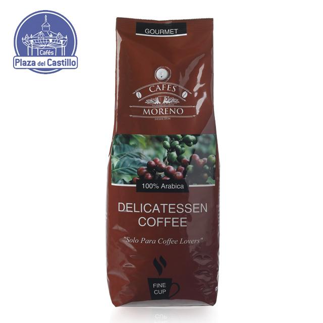 Деликатное натуральное обжаренное 100% Арабика кофейные зерна оптом-C MORENO - | Кафе Plaza del Castillo