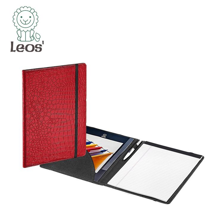Office Stationery A4 Leather Portfolio Folders