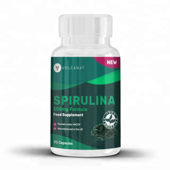 Volcanat Health Spirulina 500mg Food Supplement Wholesale Diet Supplements Private Label Available