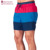 Layered Contrast Swimshorts Boardshorts For Men In 100% Polyester