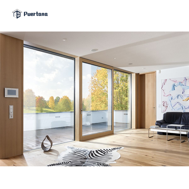 6*2,4 м, две панели, алюминиевый стеклянный подъемник, раздвижные двери, большие раздвижные стеклянные двери
