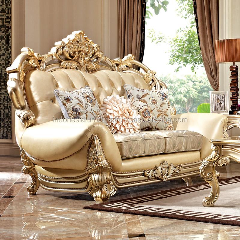 Italian Sofa Luxury Sofa Combination Living Room Furniture Carved European  Solid Wood Sofa, View Solid Wood Frame Sofa, BANGUN JOYO FURNITURE Product  Details From CV. BANGUNJOYO FURNITURE On Alibaba.com