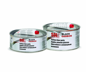 SOLL BLACK CARBON Fiber Putty