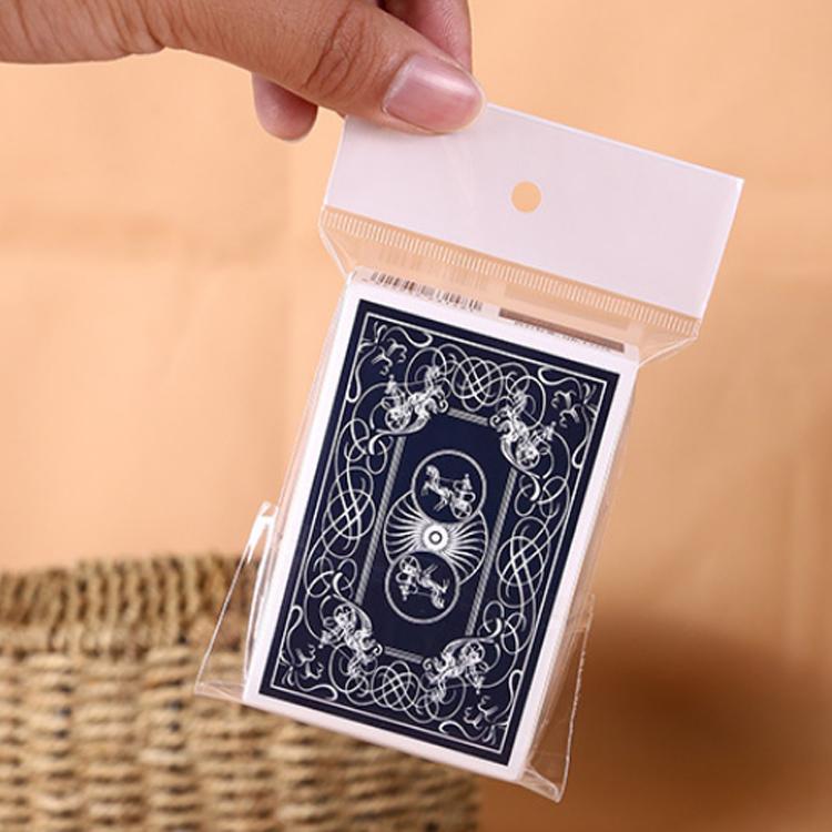 BOPP Custom Self Adhesive Sealing Tape Bags Plastic Cellophane Header Printed Opp Bopp Bag Packing
