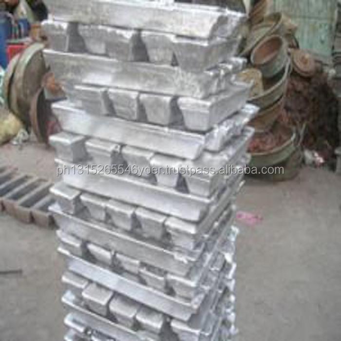 Алюминиевые слитки 99.7% для продажи