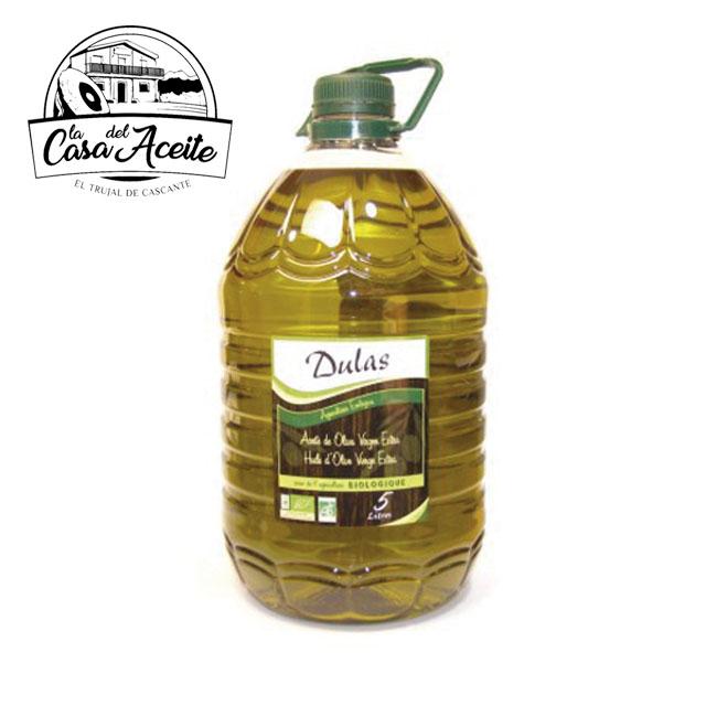 Европейское Экстра натуральное оливковое масло био 5 л   Dulas