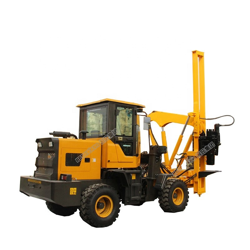 top quality hydraulic sheet hammer pile driver machine