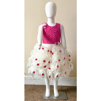New Style Girl Party Wear Kids Dresses Frock Design for Girl