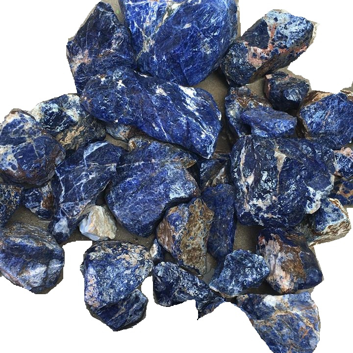 Natural Blue Sodalite Jasper Cabochon Top Quality Loose stone for Jewelry making Blue Gemstone 39x30x5mm 40076