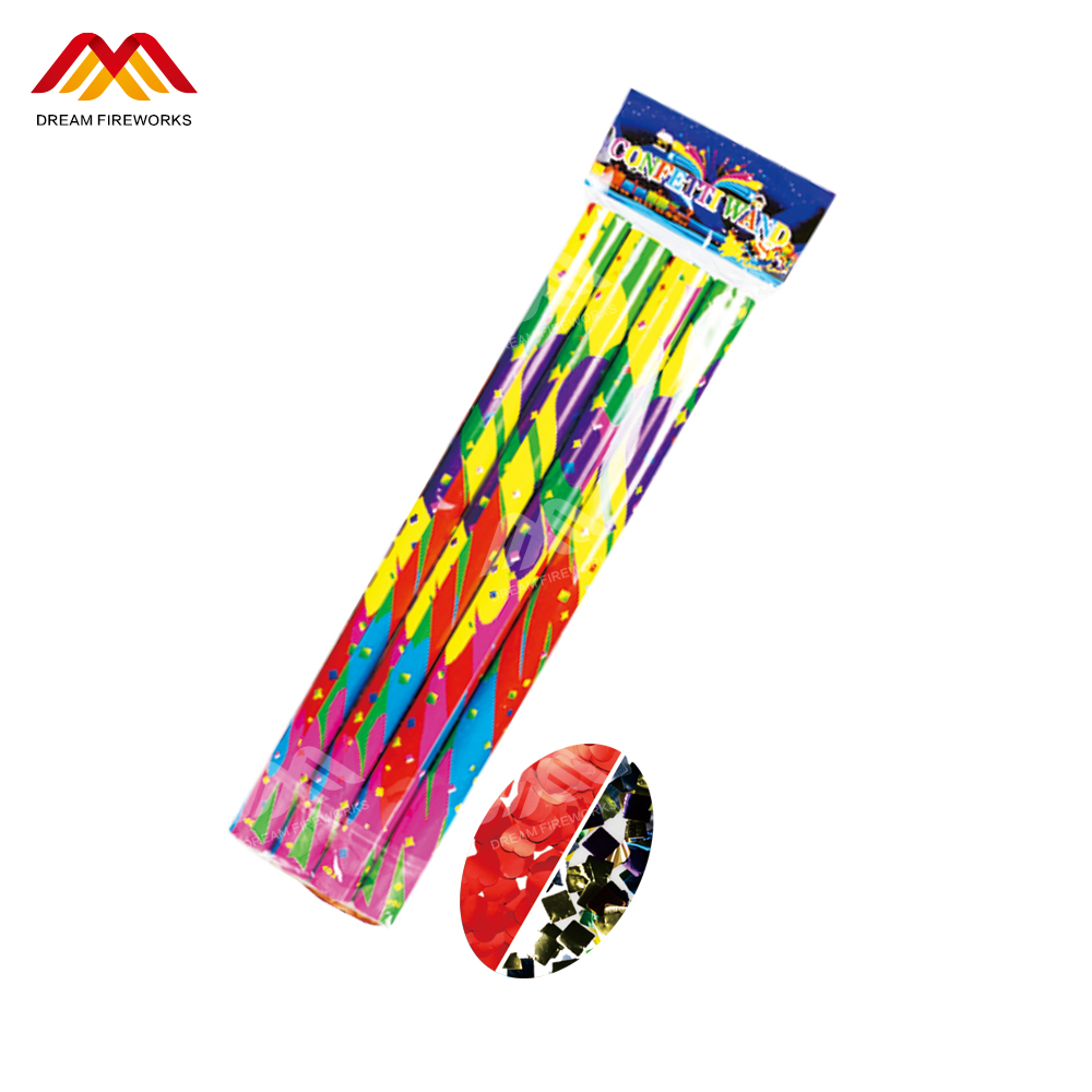 New Year Most Funny Liuyang Fireworks Non- Explosive wedding confetti For various celebration