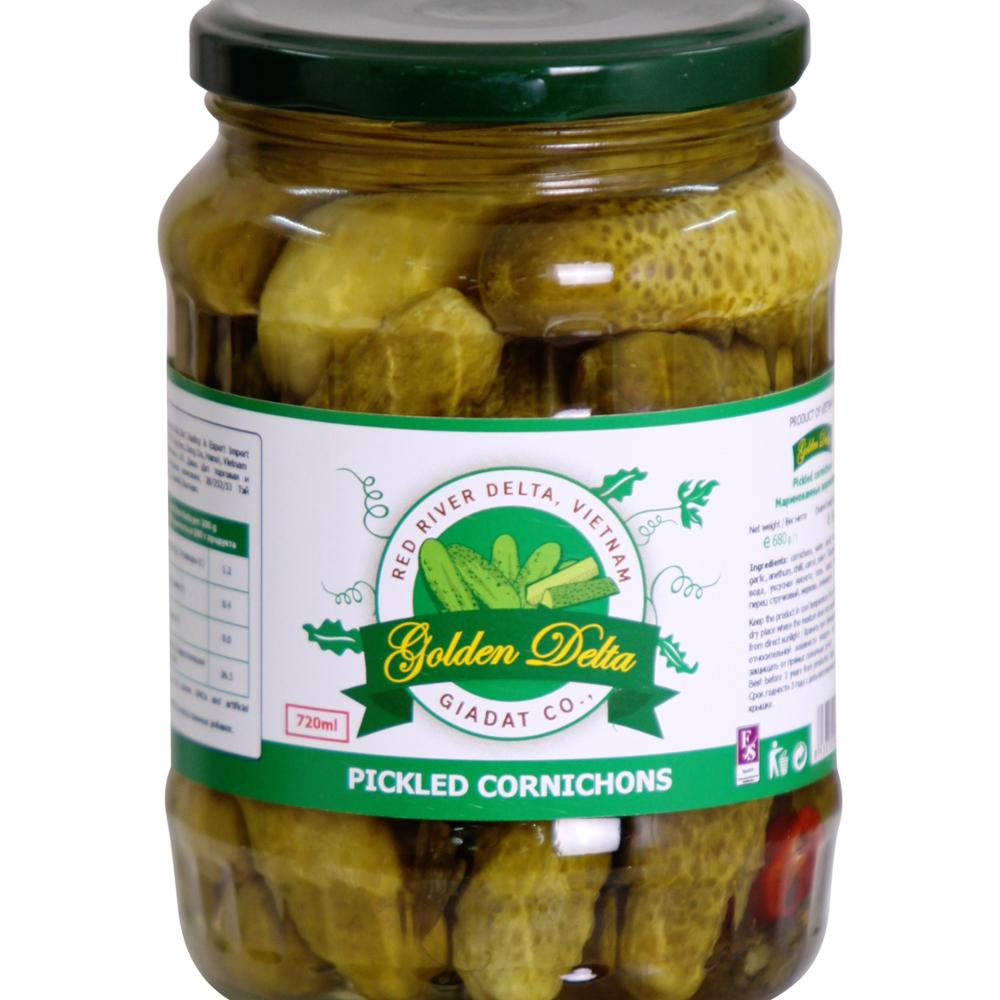 Pickled baby cucumber 720ml