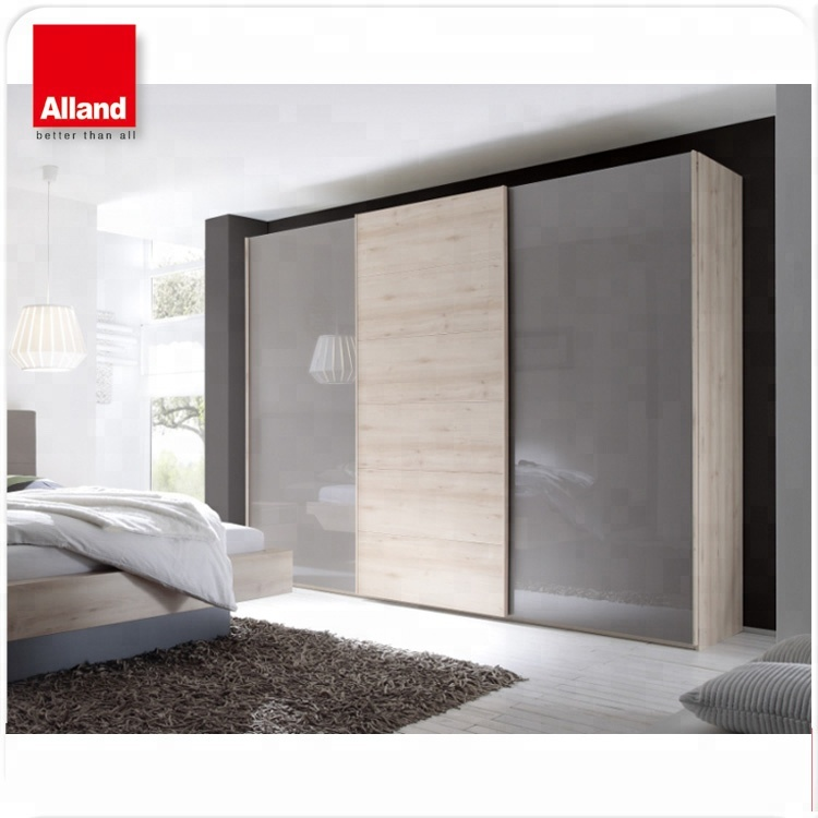Latest Design High Gloss Laminate Bedroom Sliding Door Wardrobe Cupboard View High Gloss Laminate Bedroom Wardrobe Cupboard Alland Product Details From Alland Building Materials Shenzhen Co Ltd On Alibaba Com