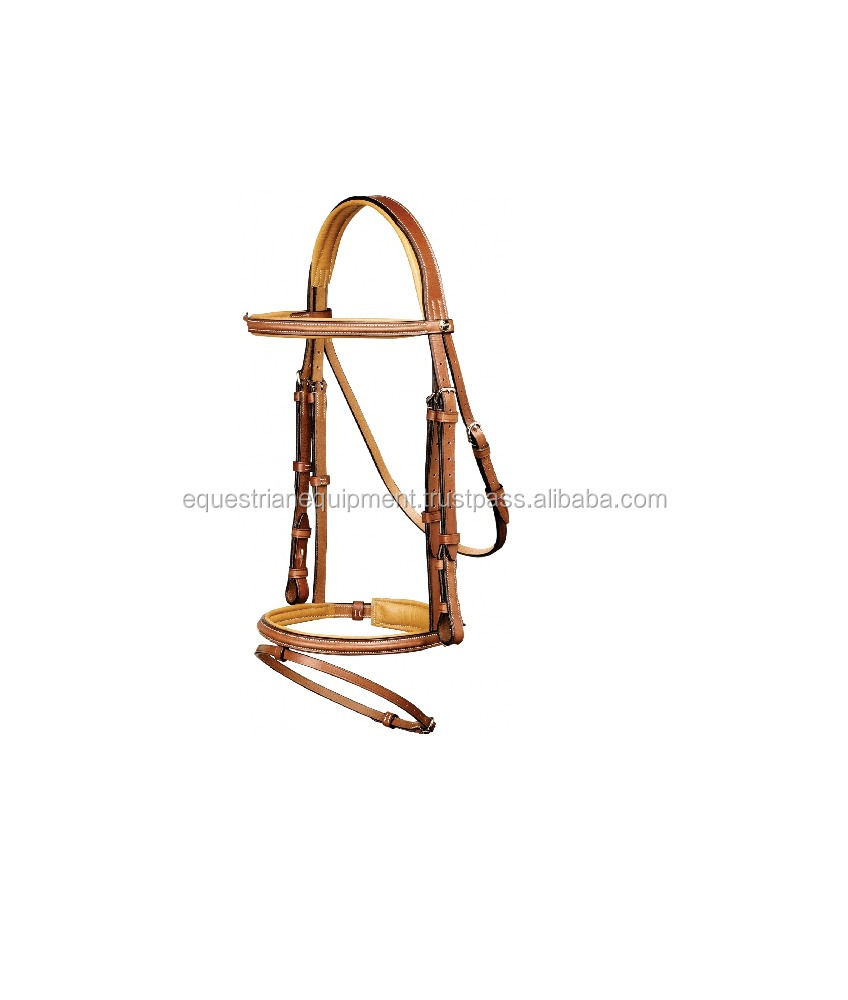 Equestrian Manufactured Leather Horse Bridle