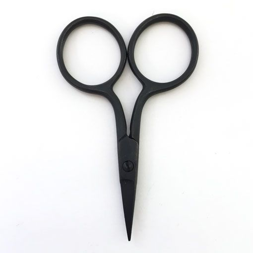 Plain Black coated High Quality Embroidery Scissors Cross Stitch Sewing Applique Shears