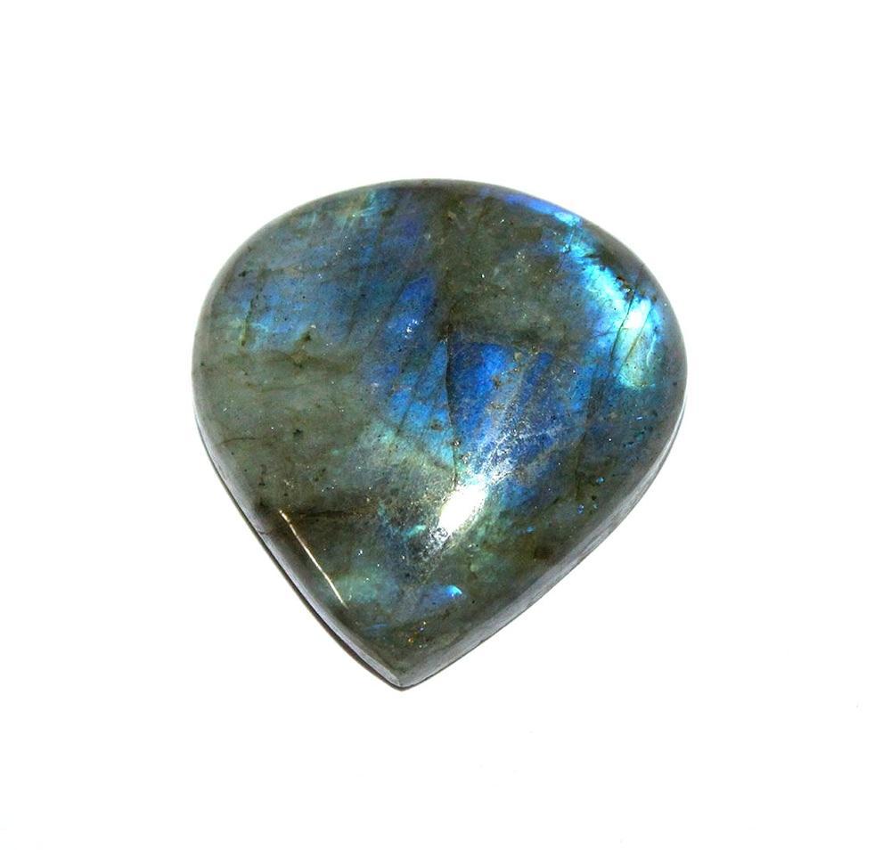 Labradorite Cabochon Labradorite Heart shape Flashy Labradorite Labradorite Stone Heart Shape Gemstone Heart Gems Heart Shape