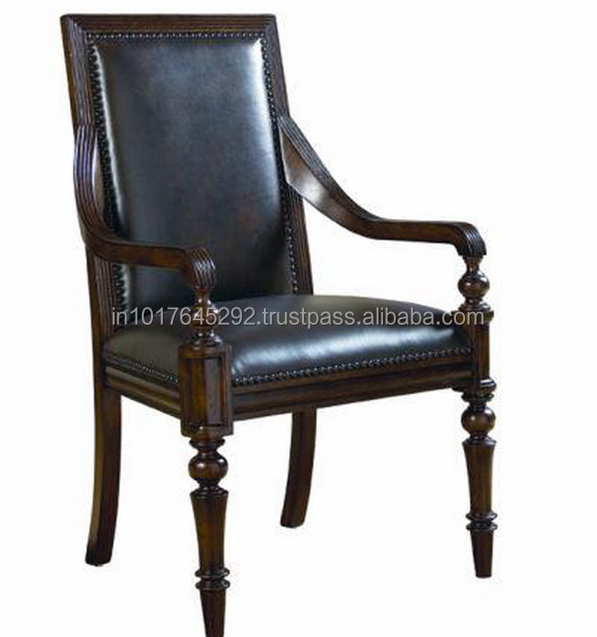Furniture Upholstered French Louis Solid Teak Wood Chair Dining Room Leather Back Chair Buy High Quality High Back Dining Chairs Antique Teak Wood Leather Chairs High Back Leather Dining Chairs Product On Alibaba Com