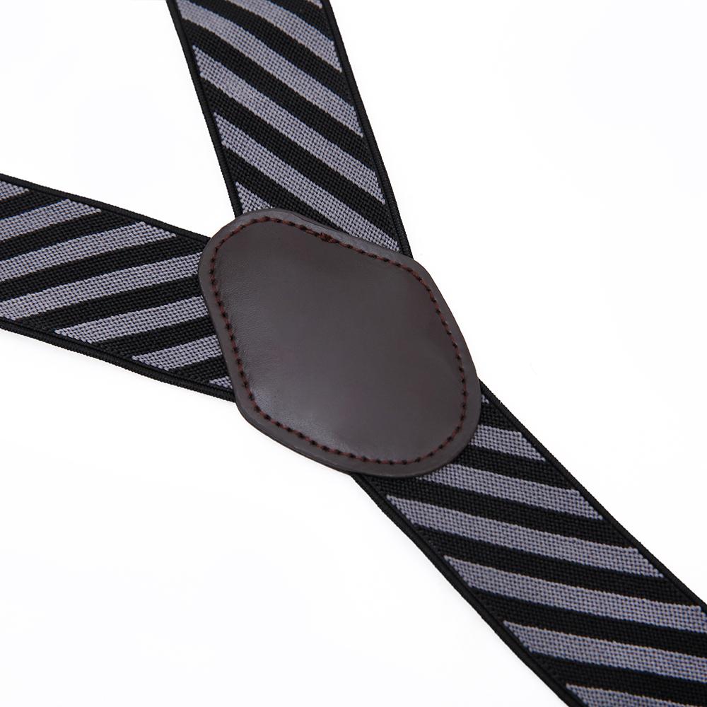 Эластичные регулируемые подтяжки из сплава с 4 зажимами, подтяжки для брюк, подтяжки для мужчин, мужские Модные аксессуары, OEM бренд, 3-7 дней