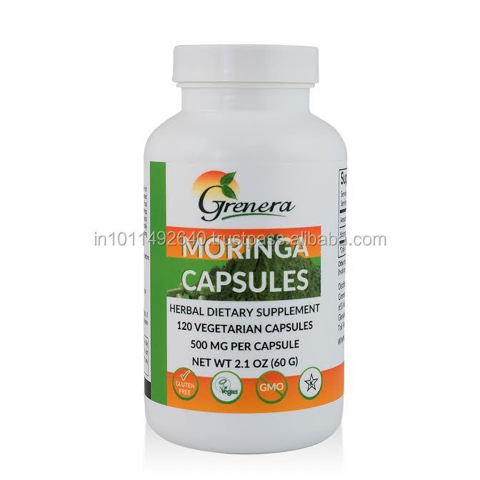 Organic Herbal Supplement - MORINGA HEALTH CAPSULES