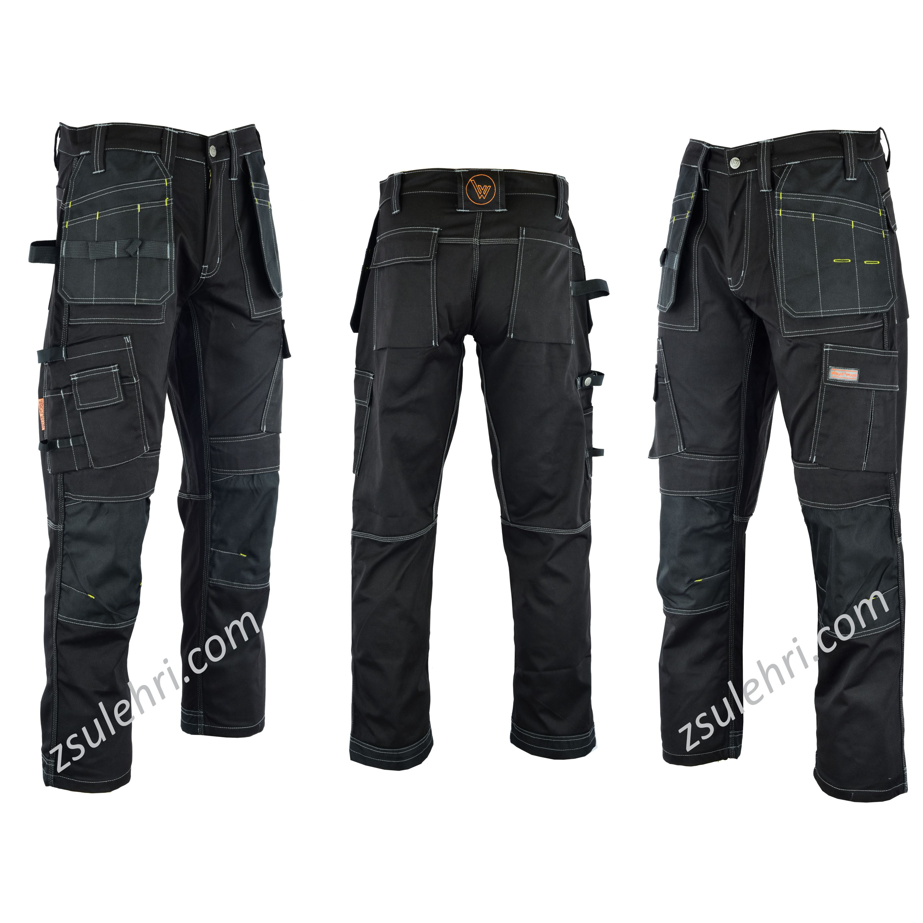 Mens Cargo Work Pants Keen Pockets Industrial Trousers Construction Pants -  Buy High Quality Cargo Pants,Black Cargo Pants Worker Pants,Durable Work