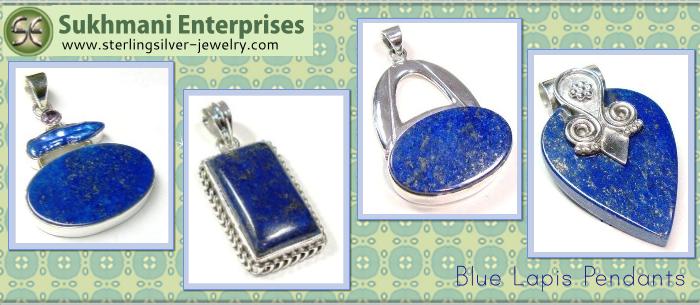 Turquoise Pendant & Earrings Silver Jewelry Set