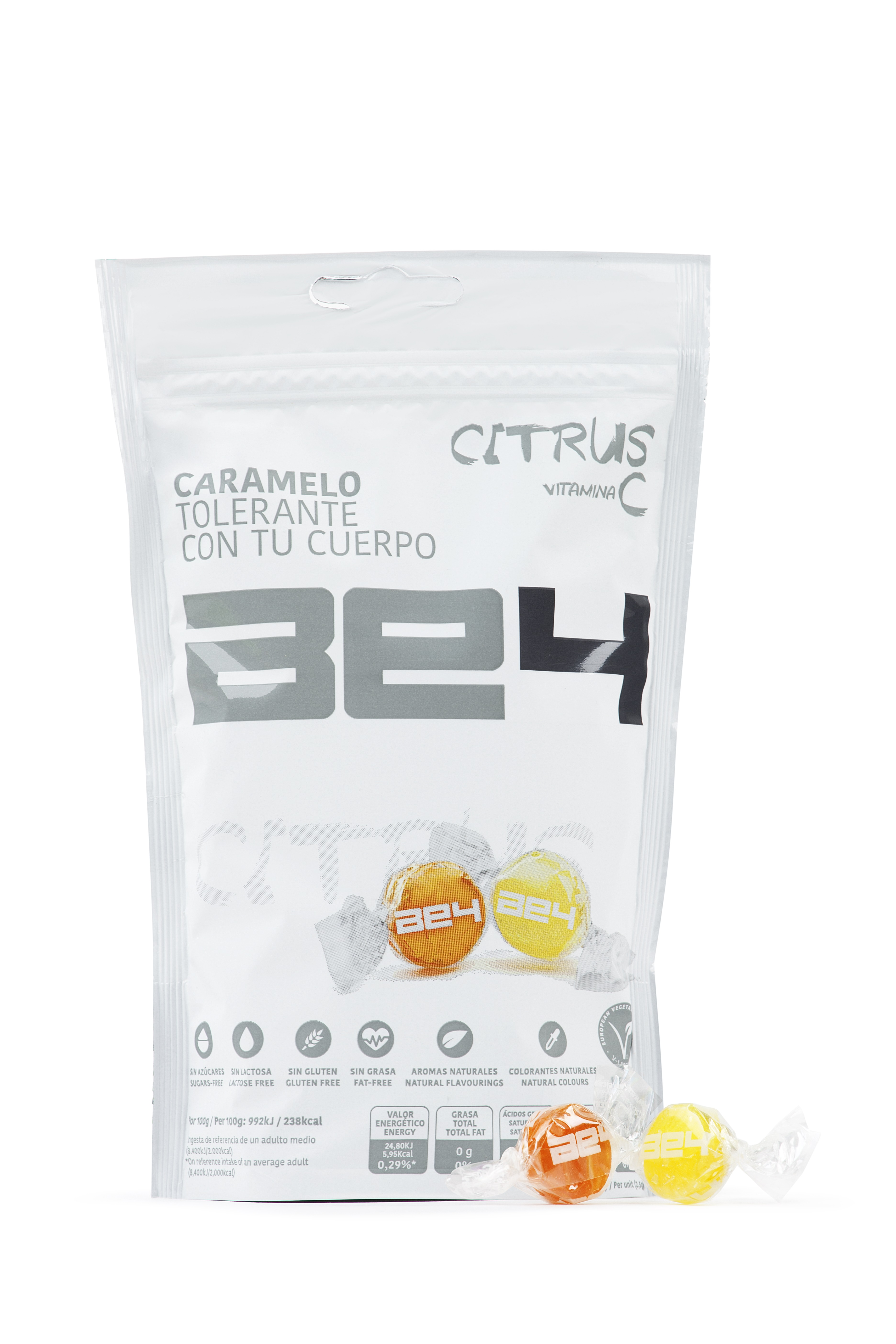 Испанская веганская фруктовая Конфета BE4-фруктовый вкус | El Caserio