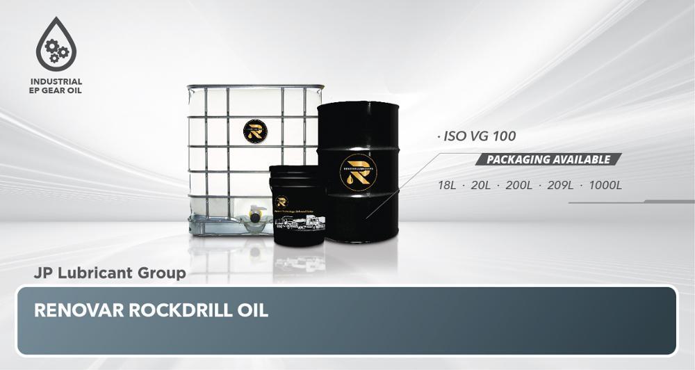 RENOVAR INDUSTRIAL ROCK DRILL OIL ISO VG 100