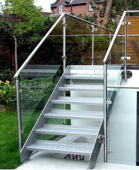 perforated metal stair treads outdoor wrought iron stair railing