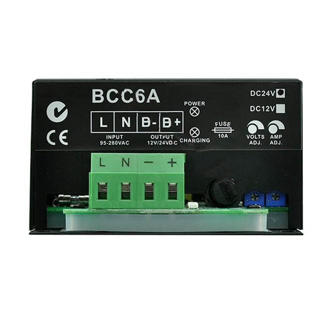 Intelligent Floating Charge BCC6A-12V/ BCC6A-24V Genset Generator Battery Charger <span style=