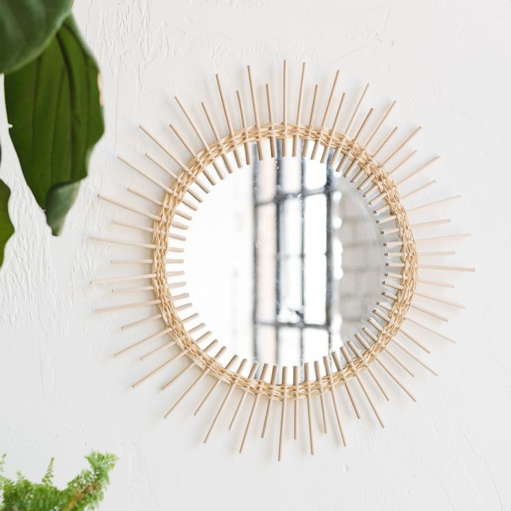 Cermin Sunburst Rotan Bambu Kualitas Tinggi Anyaman Tangan Alami Kecil -  Buy Kecil Rotan Cermin,Bambu Rotan Cermin,Rotan Sunburst Cermin Product on  Alibaba.com