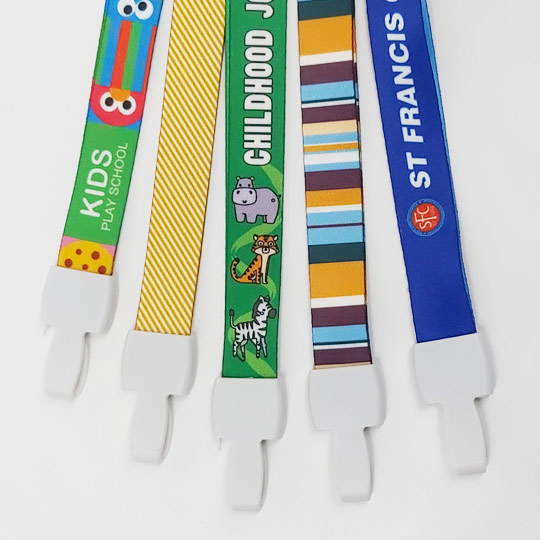 MUlticoloured High Quality Lanyards