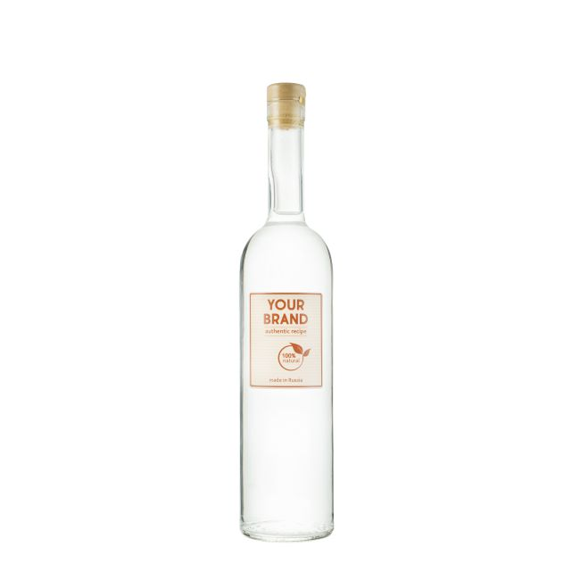 Own brand 6 botanicals gin 0,7 bottle OEM