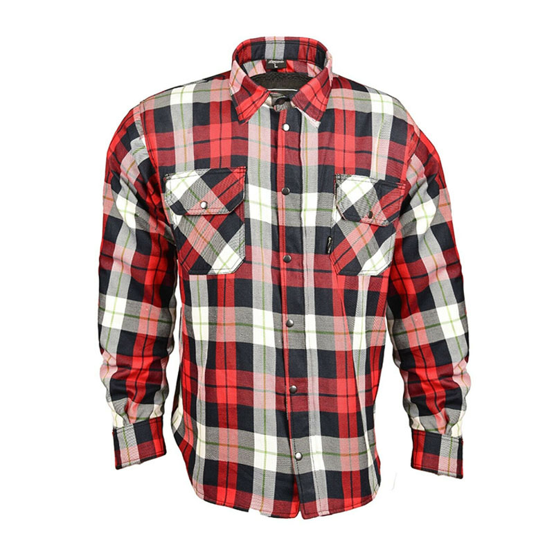 vintage leisure pattern thick shirt flannel shirt casual for men