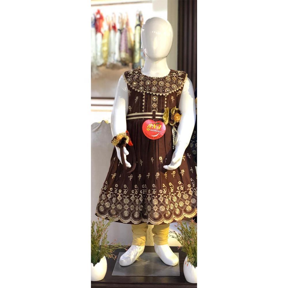 Новинка лета 2020, детское платье принцессы с цветочным рисунком, оптовая продажа, детская одежда для маленьких девочек, платья из мягкого хлопка с цветочной вышивкой