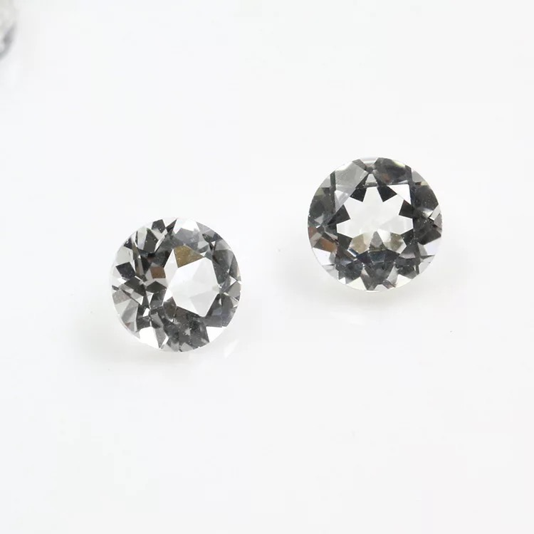 100 Piece Lot 6MM Natural Black Spinel AAA Quality Black Spinel Round Rosecut Loose Gemstone