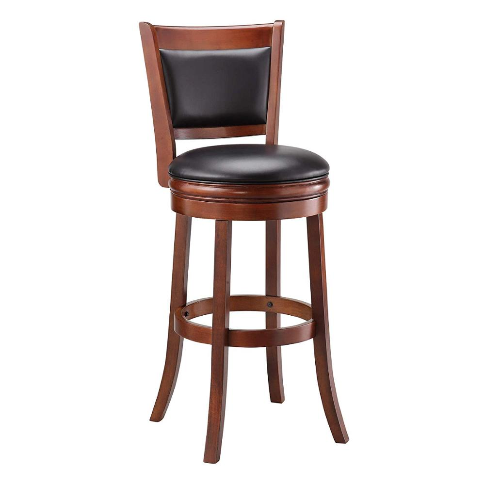 Unique European Luxury Modern High Quality Wooden Chair Leather ...