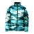 winter custom 3d printing design men Puffer sublimation jackets Camouflage Bubble Quilted Jackets For Sale
