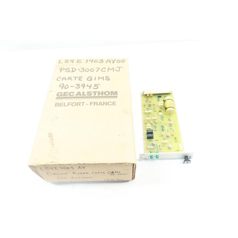 GEC ALSTHOM GIMS L54E1403AY00 PCB CIRCUIT BOARD