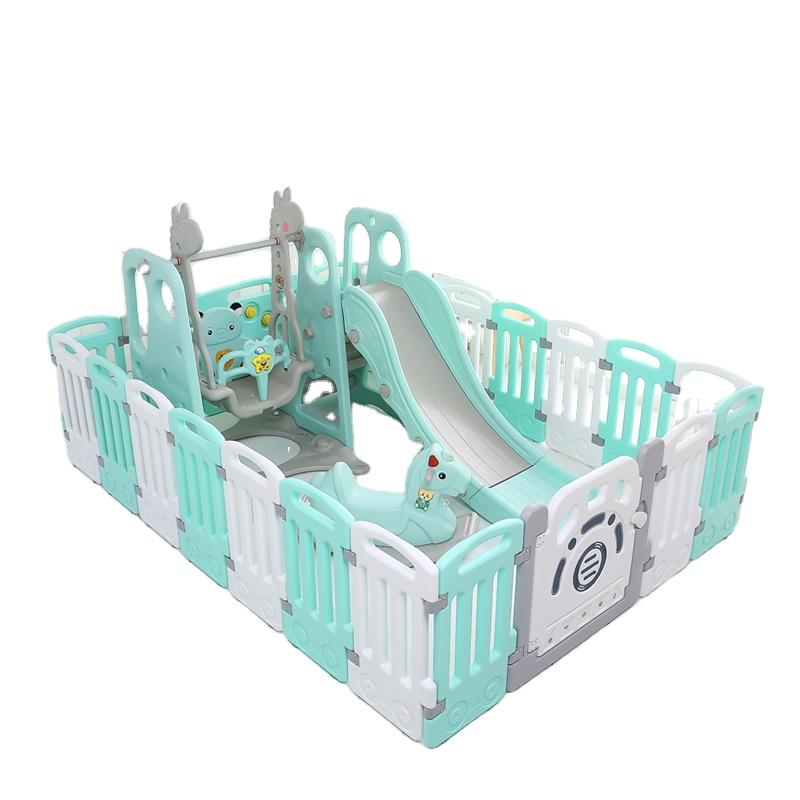 Интересный и привлекательный комнатный пластиковый детский манеж, детский манеж