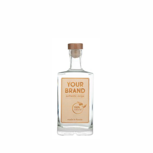Own brand PREMIUM 0,5 L bottle  gin OEM