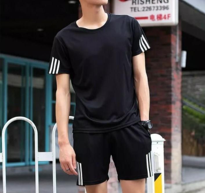 Setelan Olahraga Celana Pendek Pria Pakaian Olahraga Musim Panas Pria Buy Velvet Sport Suit Women Sport Suits Sleeveless Tracksuit Product On Alibaba Com