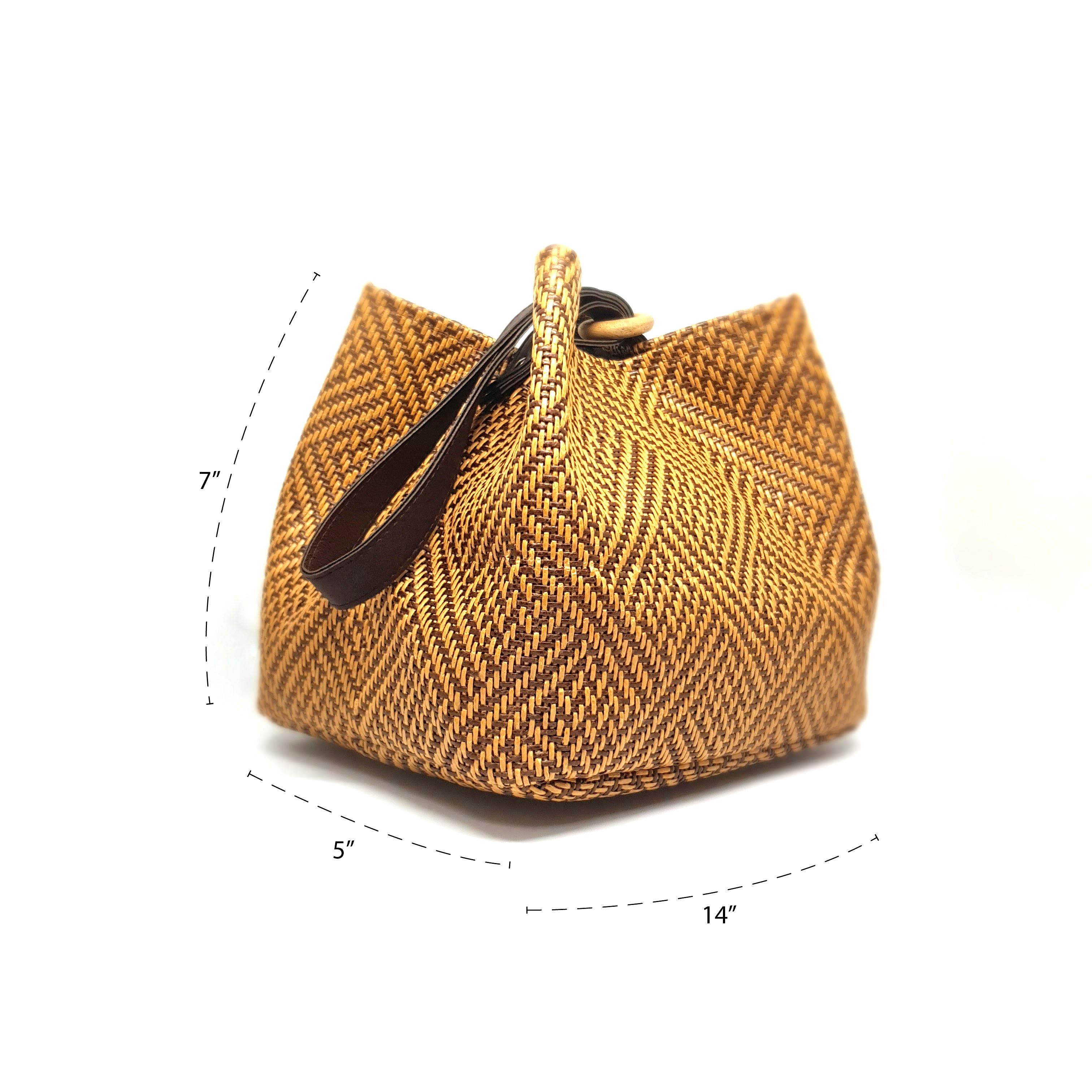 Местная сумка Kanomjeeb, Тайский продукт ручной работы с местным узором