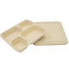 4 compartments container