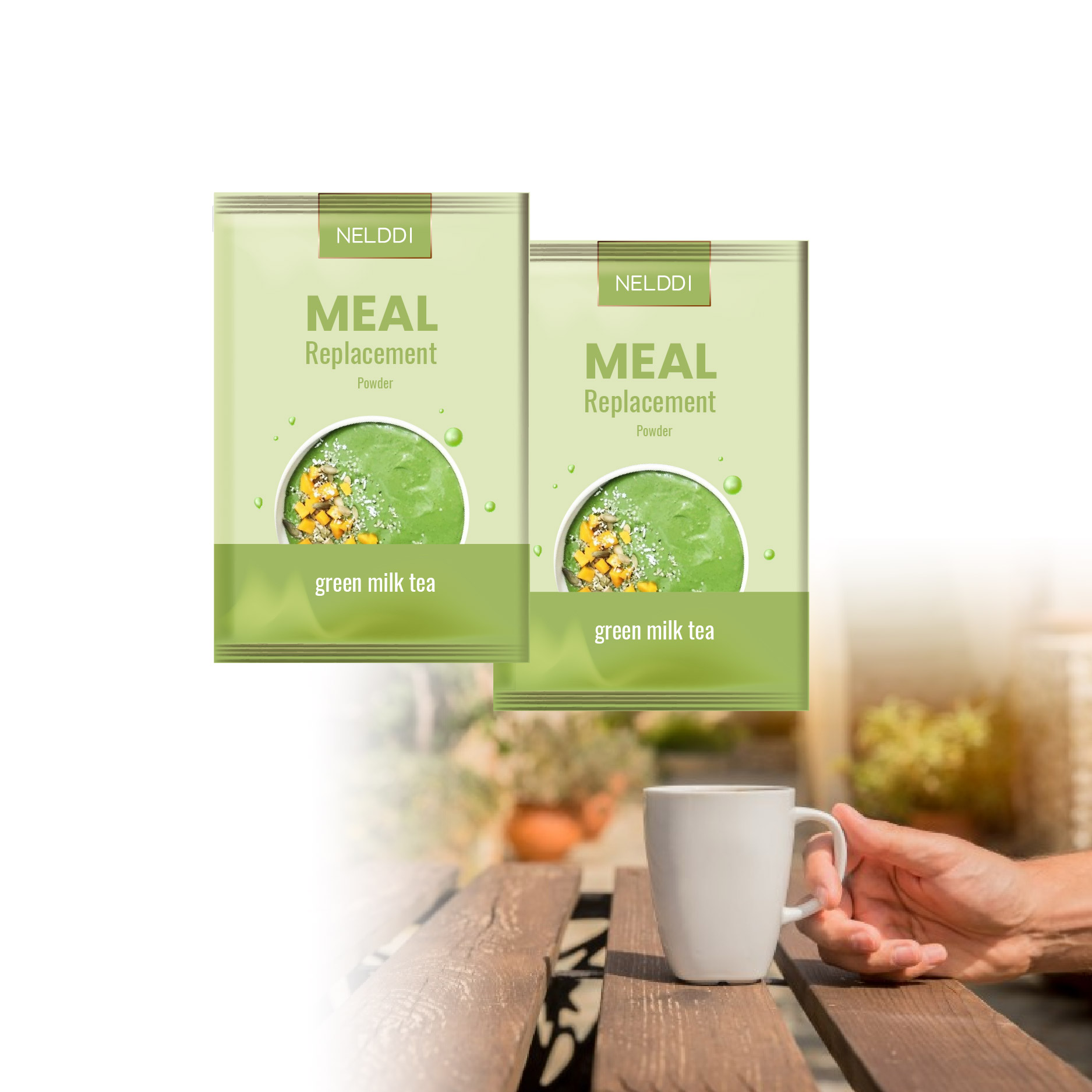 weight loss meal replacement powder private label