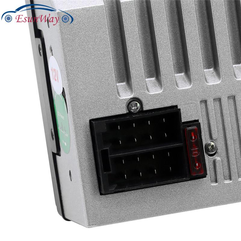 Автомобильный MP5-плеер X1, FM-радио, видеоплеер BT, AUX, USB, с контроллером рулевого колеса, цветное освещение, HD-экран 178*100 мм