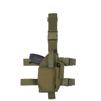 Adjustable Military Tactical Gun Drop Leg Thigh Holster