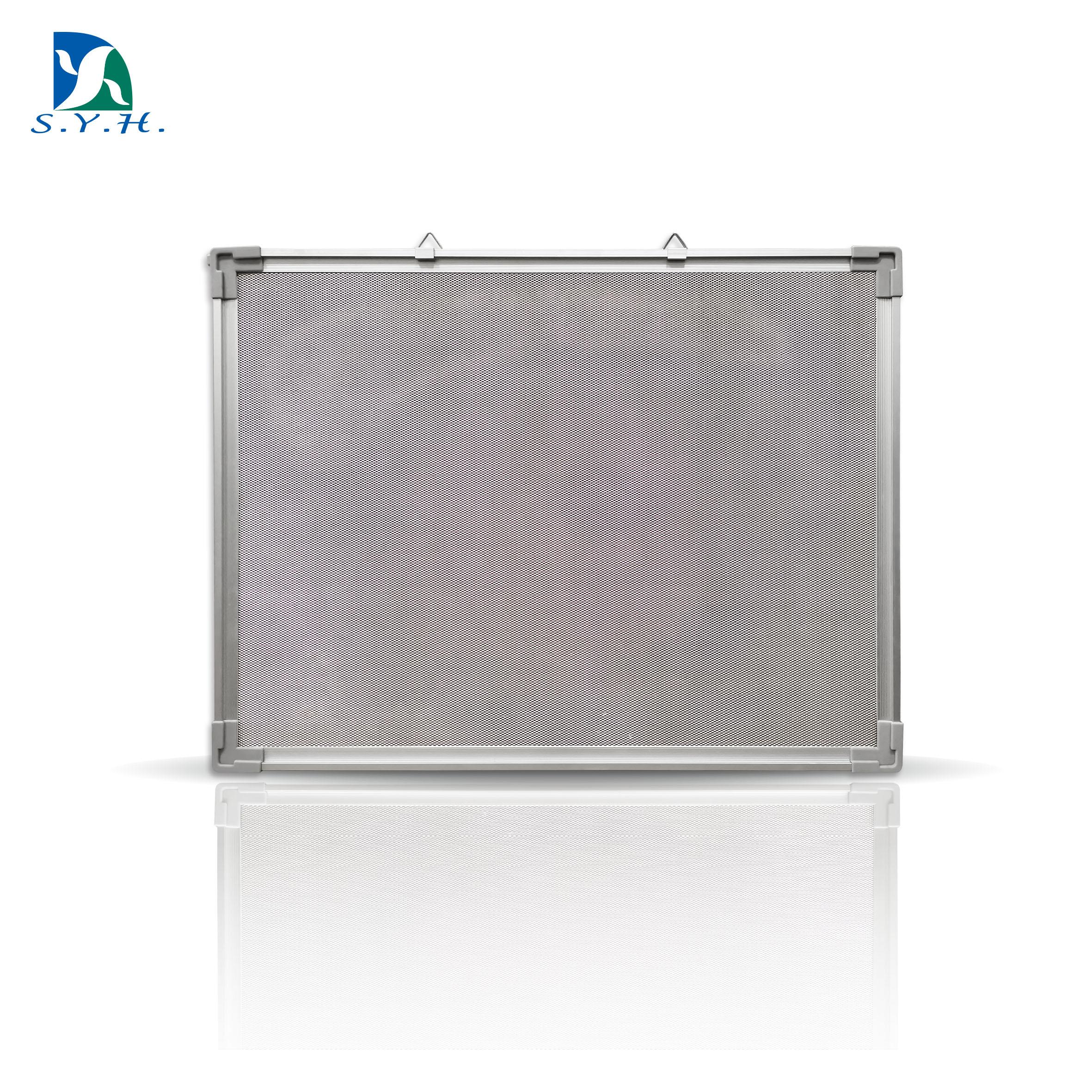 Magnetic steel net bulletin board with aluminum frame for home - Yola WhiteBoard   szyola.net