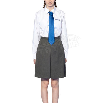 Cheap price Girls white Shirt school uniforms Short Sleeve Polo Shirt with Best Selling