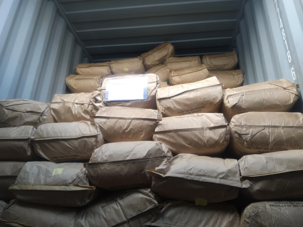 Organic Desiccated Coconut (DC) Medium in 25kg 3ply Kraft Bag with Inner Foodgrade Polyliner