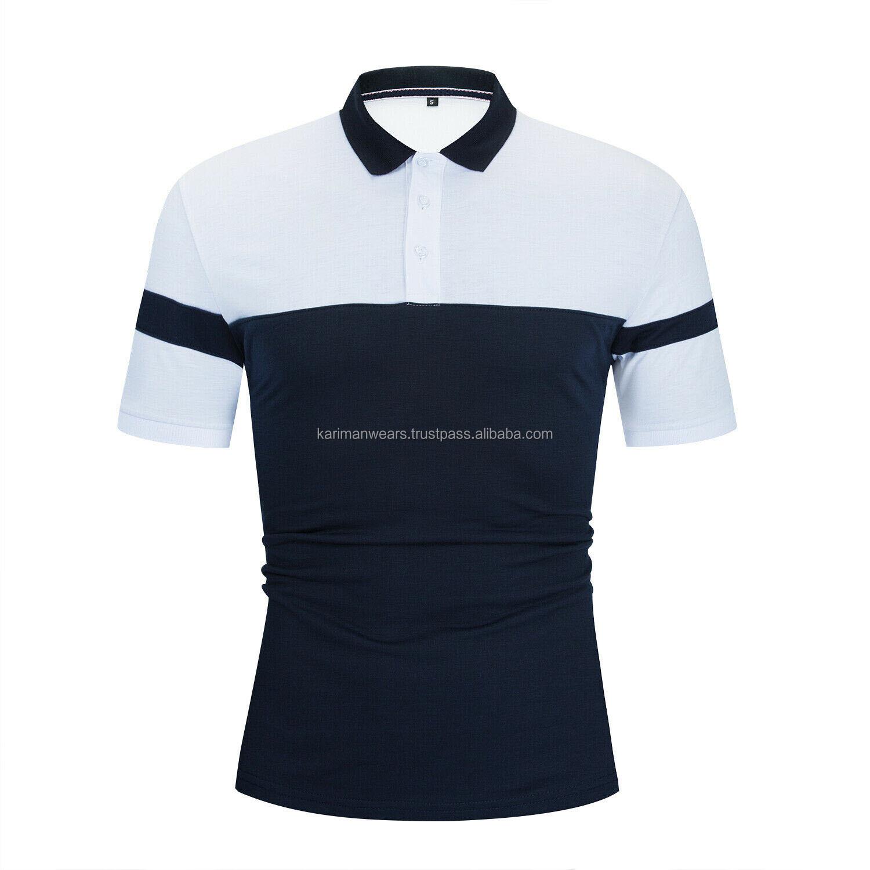 Мужские рубашки поло с коротким рукавом брендовые фабричные классические мужские рубашки поло с воротником