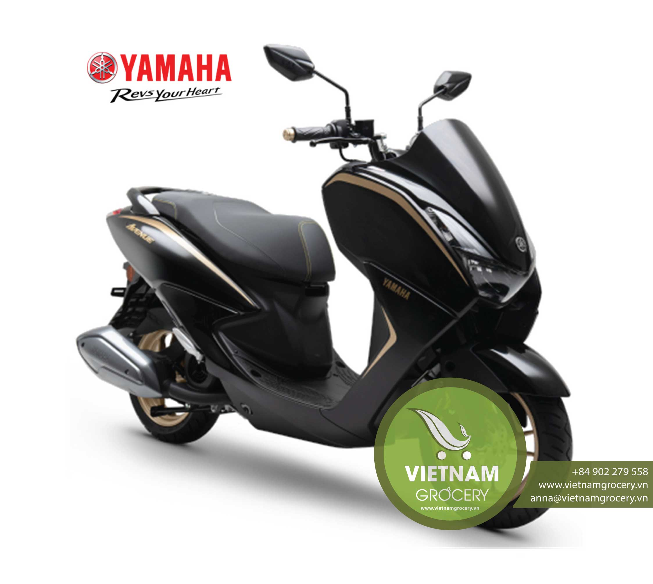 Brand New Yama ha Scooter Avenue 125 Nmax Lexi Free Go Motorcycle